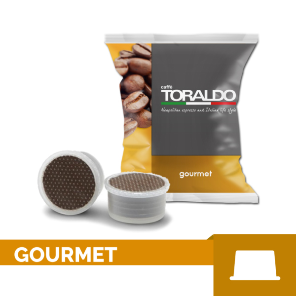 Toraldo GOURMET 100% ARABICA – 100er Pack